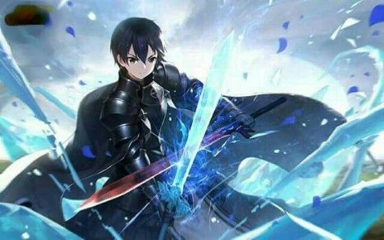 Karakter Gamer Anime Kirito 78da4