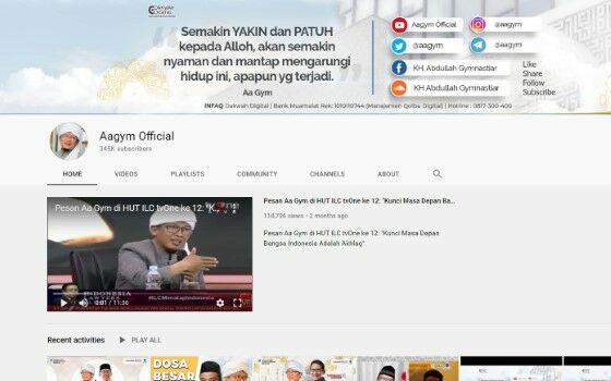 Channel Youtube Tausiyah 10 2b3fc