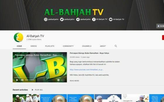 Channel Youtube Tausiyah 2 B03d9