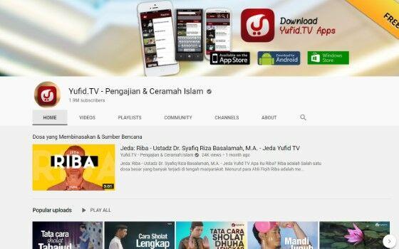 Channel Youtube Tausiyah 3 3a3fa