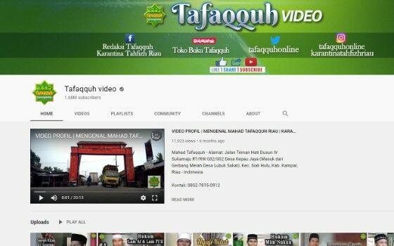 Channel Youtube Tausiyah 4 64c50