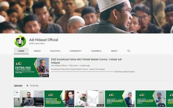 Channel Youtube Tausiyah 7 525b6