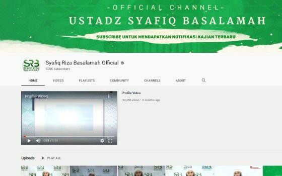 Channel Youtube Tausiyah 8 96620