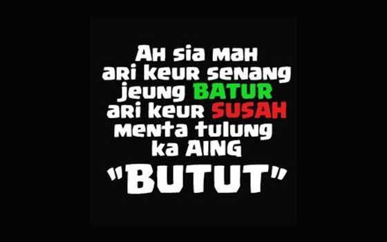 Kata Bijak Bahasa Sunda Lucu 53bfa