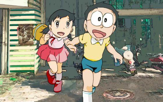 Wallpaper Doraemon 3d 13 2 B1a10