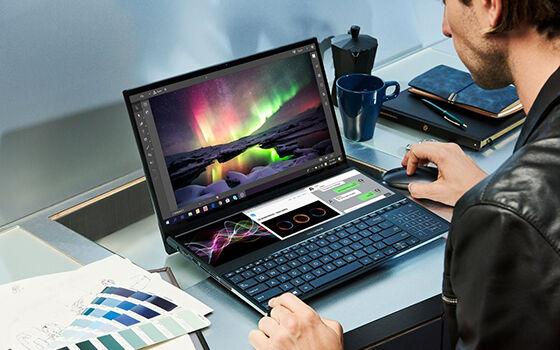 Harga Laptop Asus Zenbook Pro Duo Ux581 8e2b4