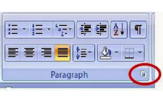 Cara Mengatur Spasi Di Microsoft Word 2007 08f90