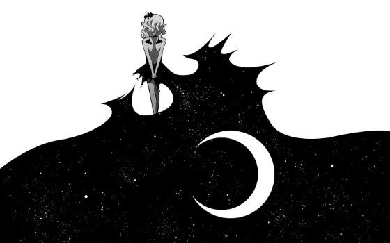Gambar Anime Keren Hitam Putih 8 Custom 1f6c8