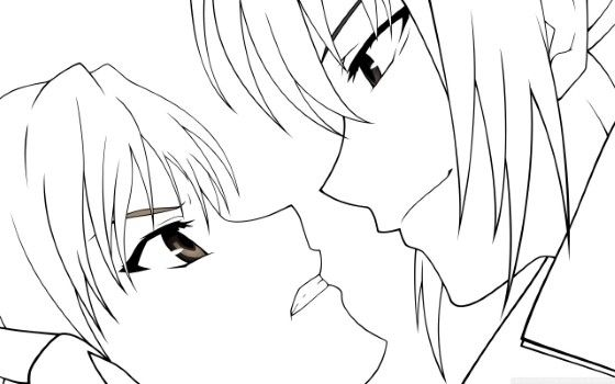 Gambar Anime Keren Pencil 2 Custom 93038