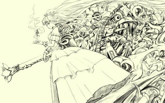 Gambar Anime Keren Pencil 9 Custom Cdb19