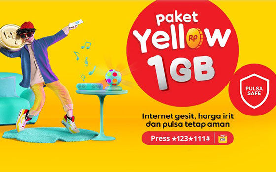 Paket Internet Indosat Yellow 7eb5b