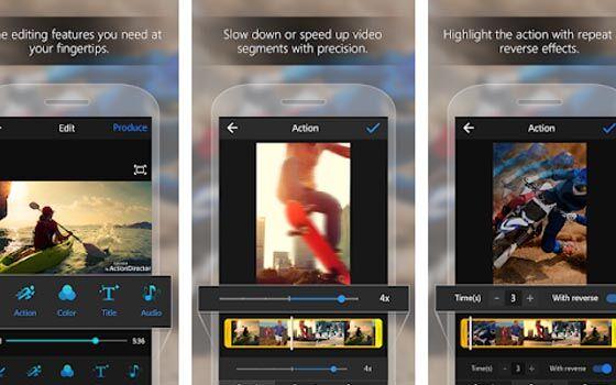 Aplikasi Penggabung Video Action Director 2d0a8