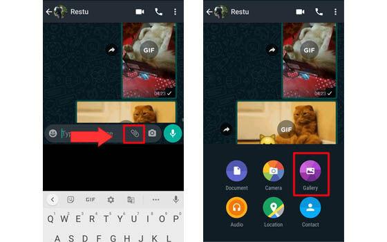 Cara Membuat Gif Di Whatsapp Paling Mudah Jalantikus
