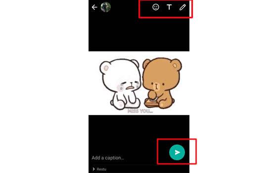 Cara Membuat Gif Di Whatsapp Paling Mudah Jalantikus Com