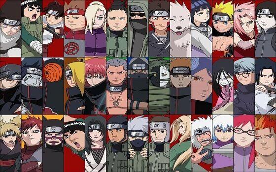 Naruto Characters Edited A199a