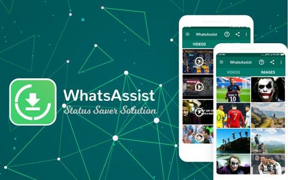 Aplikasi WhatsAssist Status Saver Image Video Downloader 8abd7