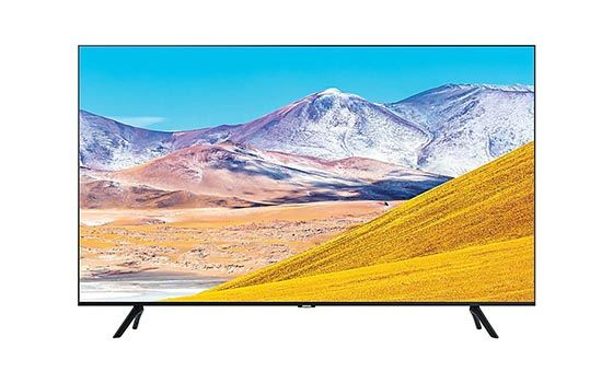 Samsung Crystal UHD 4K Smart TV TU8000 B0cbf