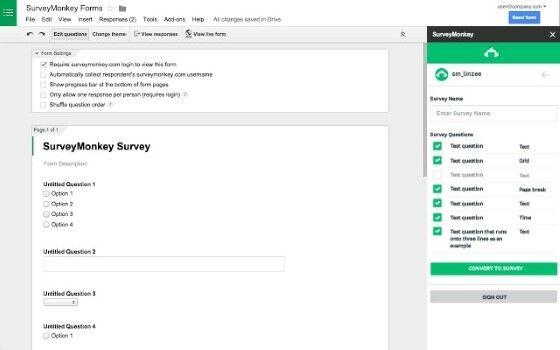 Cara Membuat Kuesioner Lewat Google Form Survey Monkey Fe2df