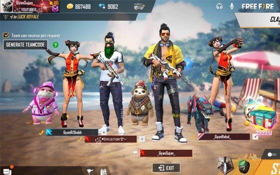 Cara Main Free Fire Pro Player 558c3