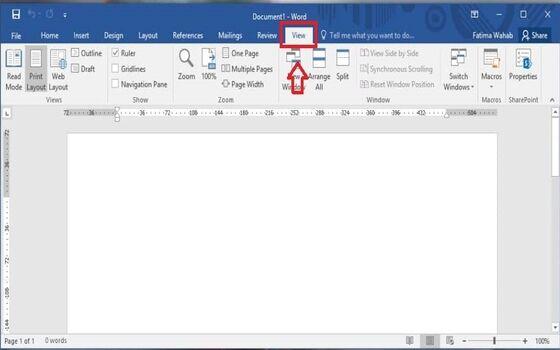Cara Menampilkan Ruler Di Word Klik View 22de9