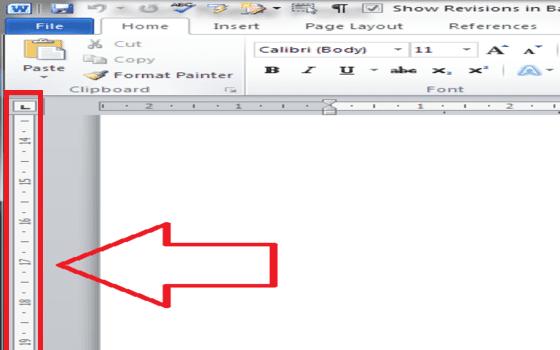 Cara Menampilkan Ruler Di Word Vertical Ruler 7dd66