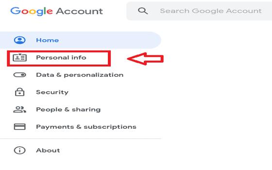 Cara Mengganti Nama Di Google Meet Di Pc Personal Info 8c81e