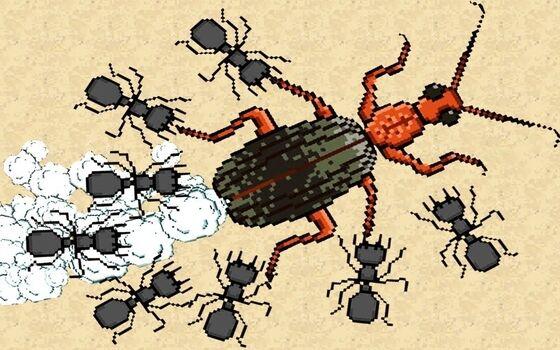 Pocket Ants Mod Apk Unlock Pasukan Semut 166f7