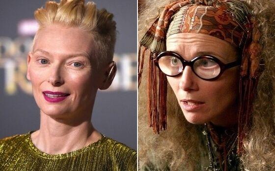 Aktor Yang Hampir Mendapatkan Peran Utama Di Film Harry Potter Tilda Swinton C68fb