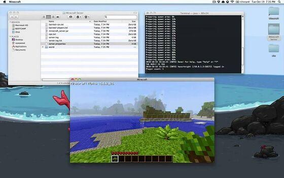 Minecraft Server 7 A737e