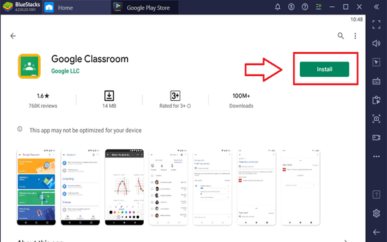 Cara Download Google Classroom Di Laptop Instal Google Classroom 033a0