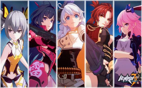 Honkai Impact 3 Pc Karakter Karakter Yang Unik 8cd86