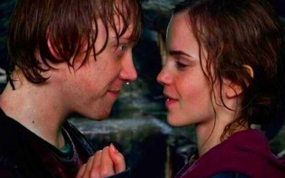 Aktor Yang Benci Ciuman Dengan Lawan Mainnya Ruper Grint Dan Emma Watson 2faf0