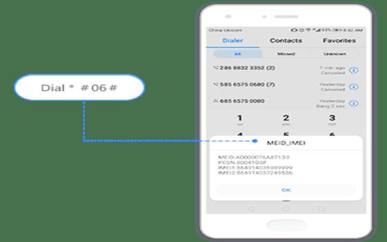 Cara Cek Garansi Huawei Panel Dial 384c1
