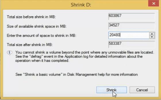 Cara Menambah Partisi C Windows 10 Tentukan Kapasitas Partisi C1fd5