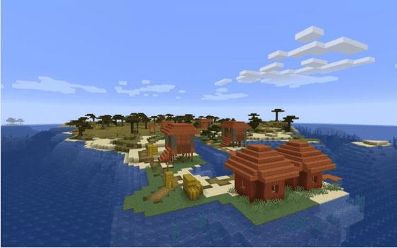 Seed Minecraft Castaway 69fef