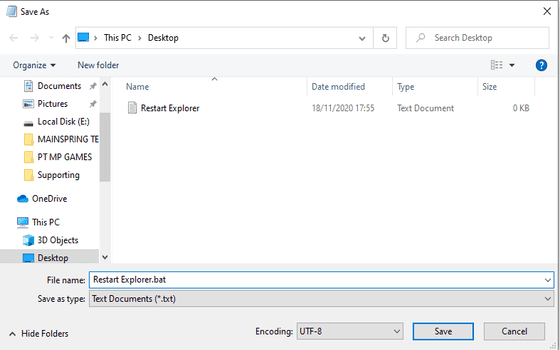 Cara Mengatasi File Explorer Not Responding Buat File Bat 97c98