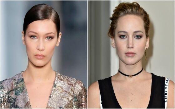 Aktor Yang Terlihat Seperti Saudara Kembar Bella Hadid Jennifer Lawrence 00088