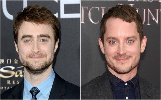 Aktor Yang Terlihat Seperti Saudara Kembar Elijah Wood Daniel Radcliffe Dab40
