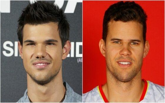 Aktor Yang Terlihat Seperti Saudara Kembar Taylor Lautner Kris Humphries 020ab
