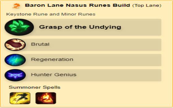 Build Nasus Wild Rift Rune Dan Spell F70ee