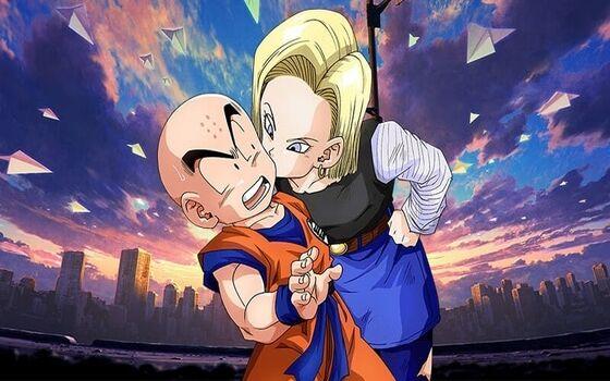 Gambar Anime Couple Keren Dan Romantis Terbaik Dragonball 15b00