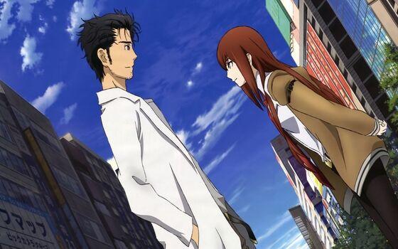 Gambar Anime Couple Keren Okabe A6aee