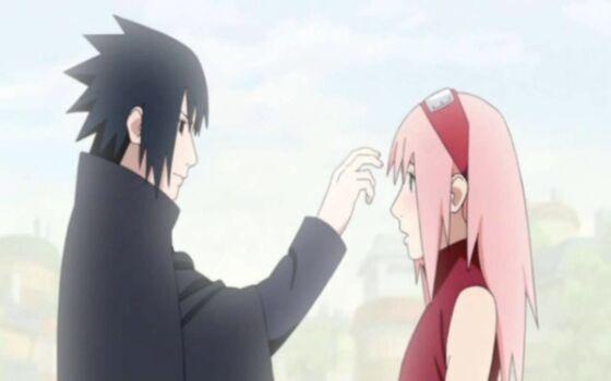 Gambar Anime Couple Keren Sasuke E8e4c