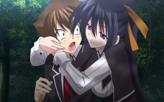 Gambar Anime Couple Sweet Issei Ea185
