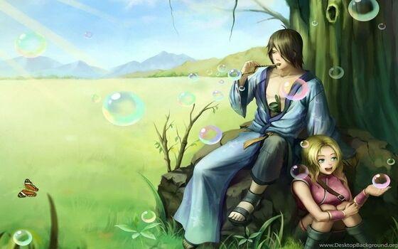 Gambar Anime Couple Sweet Six Tails A1684