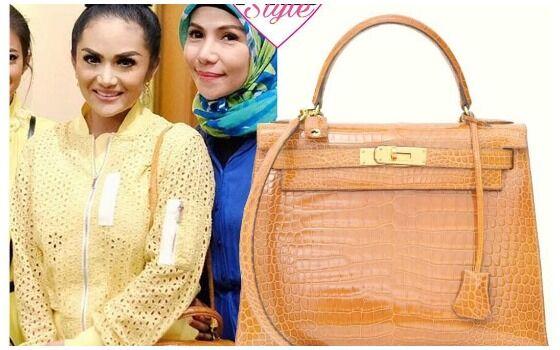 Artis Indonesia Yang Hobi Pamer Tas Mahal Branded Krisdayanti B391d