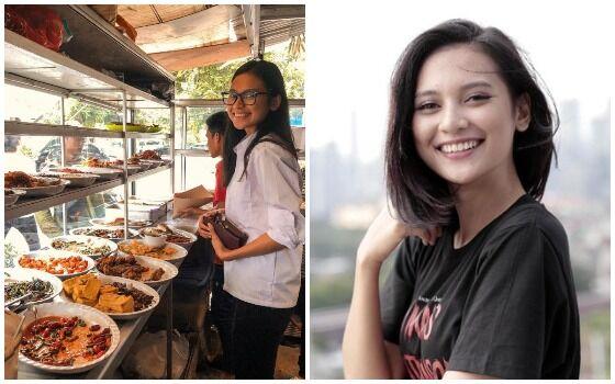 Artis Indonesia Yang Cuek Makan Di Warteg Indah Permatasari 1be40