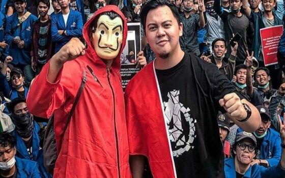 Artis Indonesia Yang Pernah Ikut Demo Di Jalanan Chandra Liow 4613a