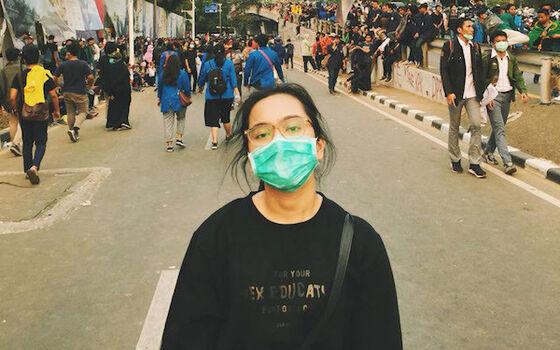 Artis Indonesia Yang Pernah Ikut Demo Di Jalanan Rachel Amanda Cc2b5
