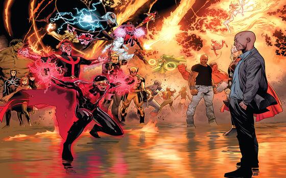 Superhero Yang Dikhianati Sidekicknya Sendiri Professor X Dan Cyclops A2584